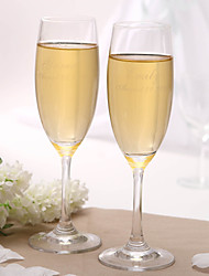 Personalized Classic Toasting Flutes Toasting Flutes Wedding Reception
