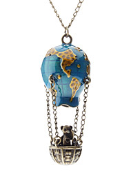 cheap -Women's Pendant Necklace - Hot Air Balloon Fashion Blue Necklace For Daily