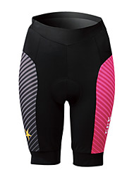 cheap -SPAKCT Women's Cycling Padded Shorts - Pink Bike Shorts, 3D Pad, Quick Dry, Breathable, Reflective Strips, Spring Summer, Spandex