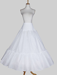 cheap -Wedding Special Occasion Slips Satin Taffeta Floor-length A-Line Slip Ball Gown Slip With