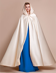 cheap -Satin Wedding Party Evening Wedding  Wraps Hoods & Ponchos Capes