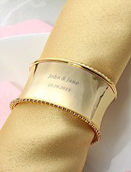Personalized Nice Alloy Napkin Ring (More Colors) Wedding Reception