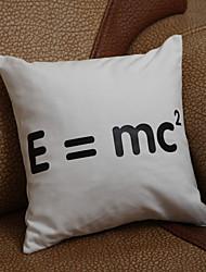 """お買い得  -ギフトウェディングギフト """"E = MC2""""ピロケース(枕は含まれていません)"""