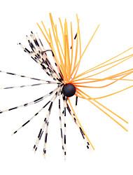 """1 Stück Harte Fischköder Metallköder Jigs Angelköder Metallköder Harte Fischköder Jigs Schwarz Grün Orange Weiß Gelb Rot g/Unze mm/1-5/8"""""""