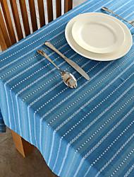 Blue / Green 100% Cotton Square / Rectangular Table Cloths
