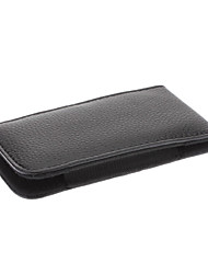 cheap -A19B Protective PU Leather Waist Bag Case for Iphone 5G (Black)