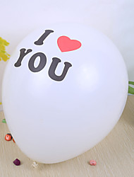 "Wedding Décor ""I Love You"" Round Ballon (set of 50) Wedding Reception"