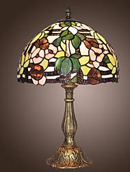 Недорогие -Тиффани Настольные светильники с 1 свет с рисунком цветов