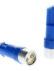 T5 Automatique Bleu 0.5W LED Haute Performance Lumières pour tableau de bord