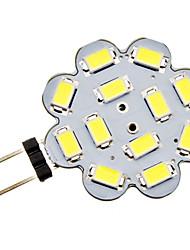 3W G4 LED-lamper med G-sokkel 12 SMD 5730 270 lm Naturlig hvid DC 12 V