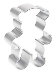 economico -simpatico orso di alluminio a forma di cookie cutter biscotto