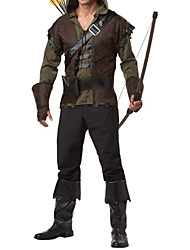 cheap -Cosplay Costumes / Party Costume Robinson Green Arrow Hoodie Halloween Men's Costume