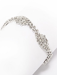 Elegant 18k forgyldt med Crystal Bracelet
