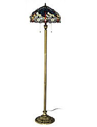 Недорогие -60W Классическая Vintage свет Половое инкрустированные Vivid стрекоз и красочные шарики