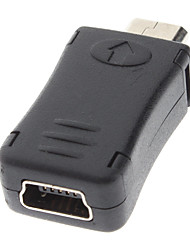 cheap -Mini USB Female to Micro USB Male Charger Adapter