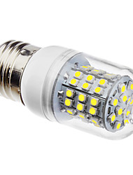 3W E26/E27 LED Corn Lights 60 SMD 3528 250lm Natural White 6500K AC 110-130 AC 220-240V