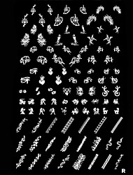 Nail Art Stamping Stempel Vorlage Platte Tier
