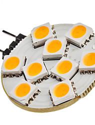 Недорогие -1.5w g4 светодиодные двухконтактные лампы 9 smd 5050 120-150lm теплый белый 3200k dc 12v