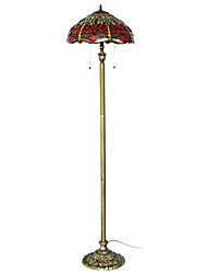 Недорогие -60W Характеристика Vintage светлым полом оформлен с большой Стрекозы желтого тела и красными глазами