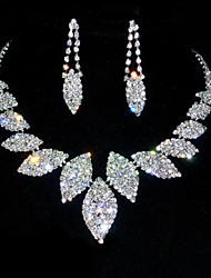 cheap -Women's Jewelry Set - Rhinestone Include Silver For Anniversary / Birthday