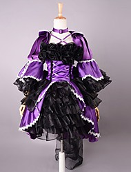 cheap -Gothic Lolita Dress Lolita Satin Women's Dress Cosplay Poet Sleeve Lolita Halloween Costumes