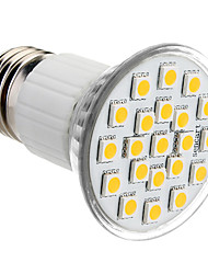 cheap -150lm E26 / E27 LED Spotlight PAR38 21 LED Beads SMD 5050 Warm White 220-240V