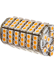 G4 LED Corn Lights 102 SMD 3528 450lm Warm White 3500K DC 12V