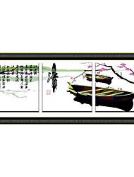 economico -Meian cotone grezzo diy ricordare jiangnan 11ct / inch punto ricamato formato del panno: 61 * 58 centimetri * 3