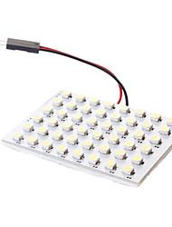 T10 Guirlande Blanc 3W SMD 3528 6000 Lampe de lecture
