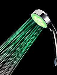 Zeitgenössisch Handdusche Chrom Eigenschaft for  LED , Duschkopf