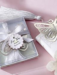 Недорогие -полым из в форме бабочки, кисточкой металла закладку
