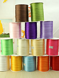 cheap -Solid Color Satin Wedding Ribbons Piece/Set Satin Ribbon Decorate wedding scene