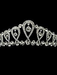 Недорогие -стразы из сплава rhinestone tiaras элегантный классический женский стиль