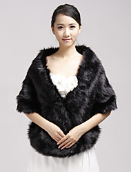 cheap -Faux Fur Party Evening Casual Fur Wraps Wedding  Wraps Shawls