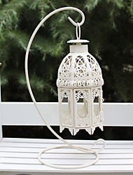 Wedding Décor White Hanging Hollow-out Candle Holder