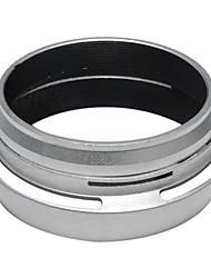 Anneau adaptateur de filtre + Pare-soleil pour Fujifilm Fuji X100 remplacer l'argent LH-X100