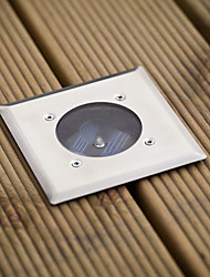 White Led Stainless Steel Solar Decking Lights(Cis-57103)