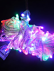 10m lunga serie 100 LED di luci per la decorazione di Natale (colori assortiti)