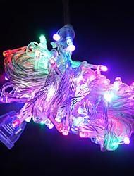 Недорогие -10 м длиной 100 светодиодов строка огней для украшения (различные цвета)