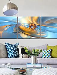 povoljno -Canvas Set Moderna Tradicionalno, Tri plohe Horizontalan Print Zid dekor Početna Dekoracija