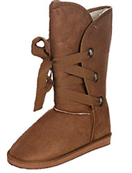 Lace-Up Boots Mid-Calf donna