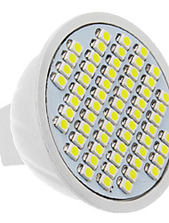 cheap -LED Spotlight 60 leds SMD 3528 Cold White 330-360lm 5500-6500K AC 12V