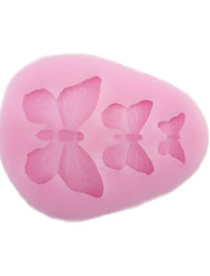 Soft Silicone Cake Decorating Mold Butterfly Shape
