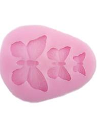Мягкий силиконовый торт, украшающий форму бабочки, форма bakewares decoration