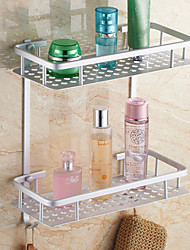 Bathroom Shelf / Aluminum Aluminum /Contemporary