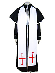 cheap -Cosplay Costumes / Party Costume Vampire Trinity Blood Black Dress Men's Costume