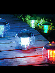 billige -Farveskiftende Solar Power LED Flydende Light Ball Lake Pond Pool Lamp