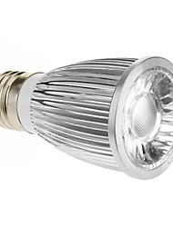 cheap -420-450lm E26 / E27 LED Spotlight 1 LED Beads COB Cold White 85-265V