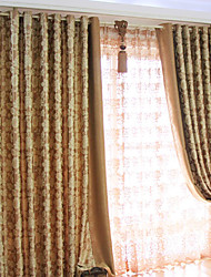 cheap -Curtain European Country, Embossed Bedroom Polyester Material Home Decoration