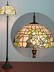 Недорогие -Зонтик дизайн торшер, 2 Легкий, Тиффани смола стекла Процесс картины